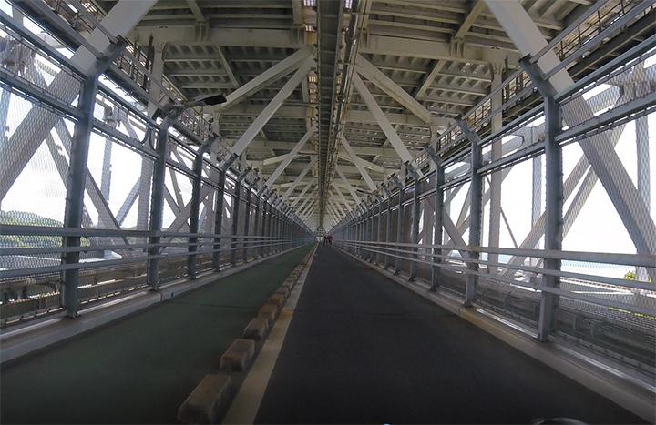 因島大橋はファミリーにお薦めできない