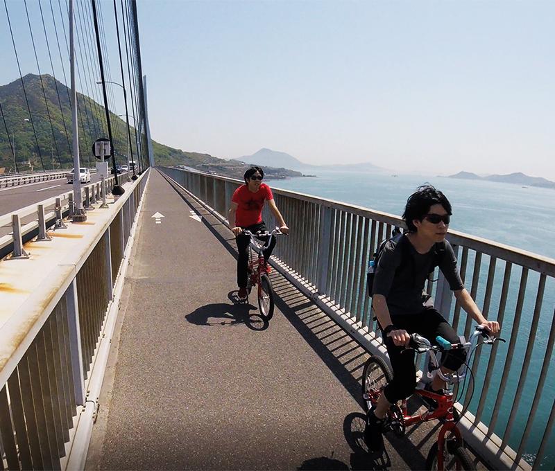 多々羅大橋からの風景