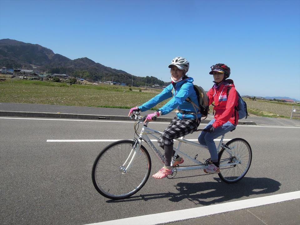 二人乗り自転車002