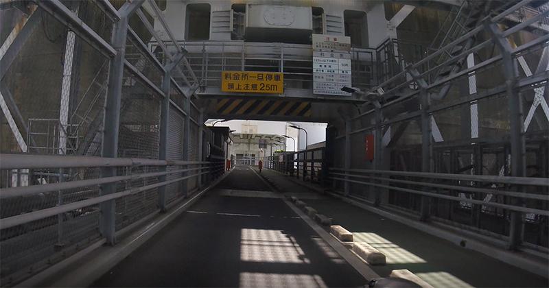 因島橋の内観