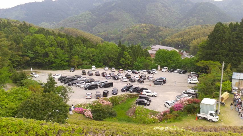 河内藤園 駐車場1