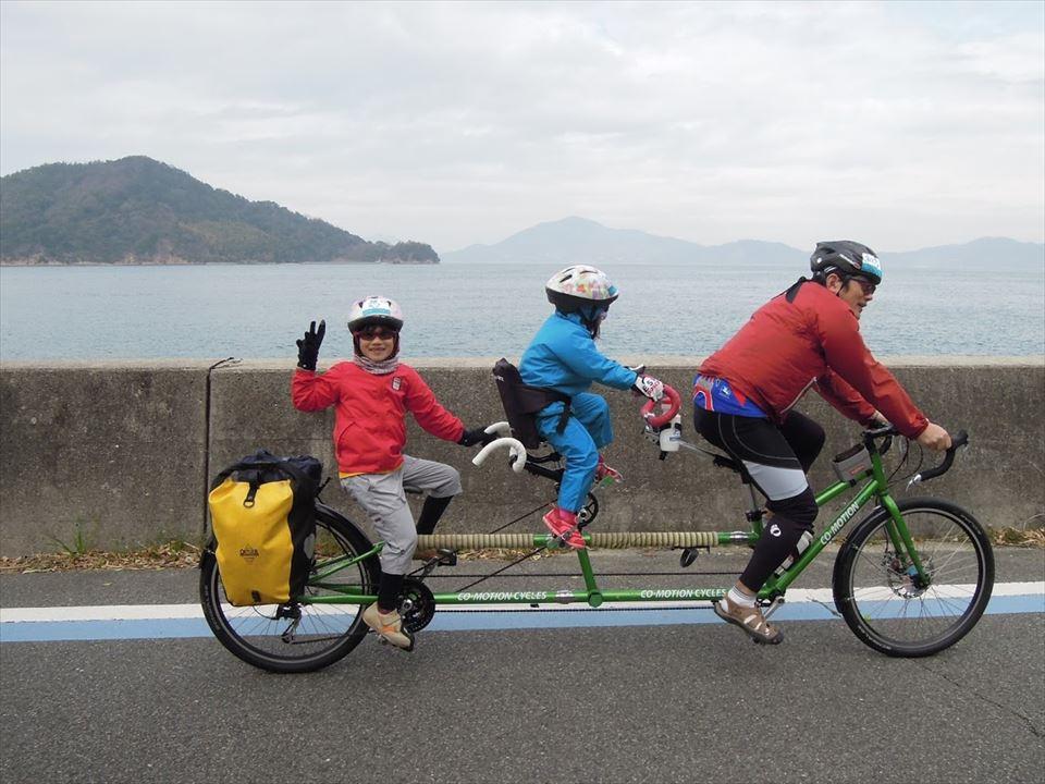 二人乗り自転車011