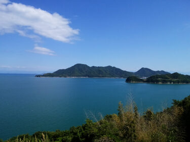 しまなみ海道の絶景ポイント。しまなみ海道では、メインルートを外れると絶景ポイントに出会える。