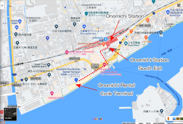 How do you rent a bicycle on the Shimanami Kaido?