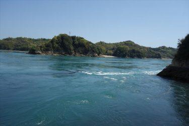 船折瀬戸の潮流がハンパない。「ゴー」っという潮の流れを体感して欲しい。
